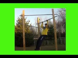 Diy Backyard Pull Up Bar by How To Build A Chin Up Triangle Youtube