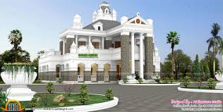 unique colonial style exclusive home design kerala home design