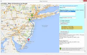 Ewr Airport Map Limowiz Limousine Software And Management