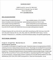 network engineer resume emphasize your skills in your network engineer resume