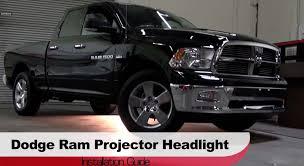 2012 Dodge 3500 Truck Accessories - spyder auto installation 2009 2013 dodge ram 1500 projector