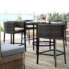 Outdoor Bistro Table Bar Height Marvelous Outdoor Patio Furniture Bar Ideas Beautiful Outdoor