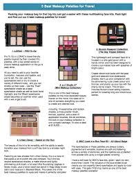 5 best makeup palettes for travel makeup palette makeup and