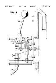 patent us5509258 operator presence control for reel mower