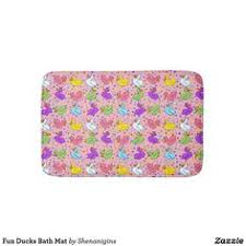 Yellow Duck Bath Rug Yellow Duck Bath Mat