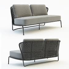Outdoor Sofa Bed 3d Outdoor Sofa Cgtrader