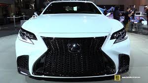 lexus ls 500 turbo 2018 lexus ls500 f sport exterior and interior walkaround 2017