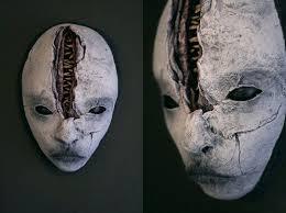 Cool Mask Disturbingly Cool Mask Sculptures Neatorama Art Dolls