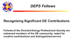 bureau des contributions directes directed energy professional society report recognitions kirk