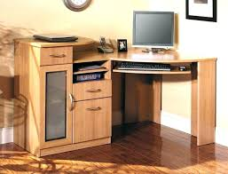 Computer Hutch Desks With Doors Mission Style Computer Desk Bethebridge Co