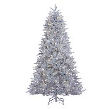 home accents holiday 7 5 ft pre lit led wesley spruce slim