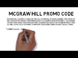 mcgraw hill promo code free access 2017 coupon youtube