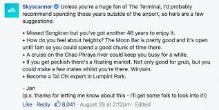 sky scanner man questions skyscanner s 47 year stopover gets hilarious response