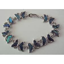 butterfly bracelet images Butterfly bracelet abalone shell beautiful gift inexpensive bracelet jpg