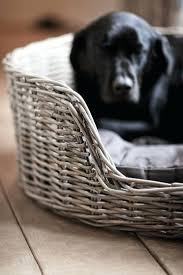 Hooded Dog Bed Dog Beds Wicker U2013 Thewhitestreak Com