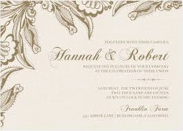 Wallpaper Invitation Card Wedding Invitation Card Design Idea With Floral Pattern And Beige