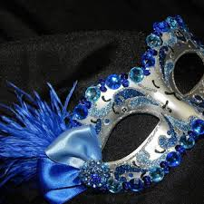 blue masquerade masks best blue and silver masquerade masks products on wanelo drawing