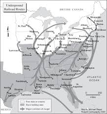 Underground Railroad Map Ru Cartography Examples