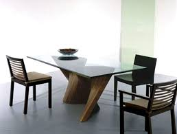 Modern Round Dining Room Sets Kitchen Contemporary Kitchen Tables Modern Glass Dining Table