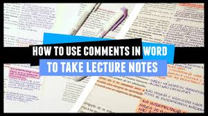 how to take comparison notes in word 2 minute study tips youtube