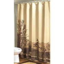 Cabin Shower Curtains Burlap Shower Curtain Rustic Country Chic 45 Bathroom Cabin