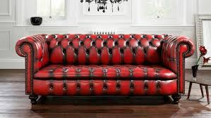 canap style chesterfield canapé de style chesterfield en cuir 2 places