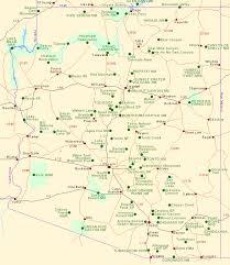 map of az map of arizona