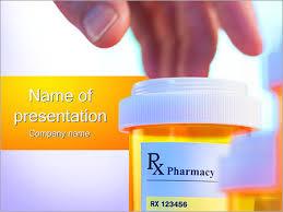 pharmacy powerpoint template smiletemplates com