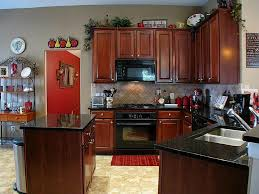 hang glass pendant lamp kitchens with black appliances pictures