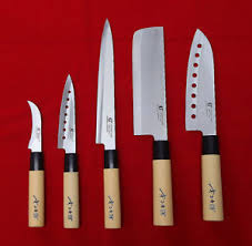 japanese kitchen knives for sale 5 knives set chef knife japanese sashimi kitchen cutlery stainless