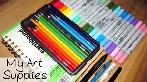 my art supplies youtube