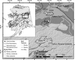 Alaska Fires Permafrost by Edaphic And Microclimatic Controls Over Permafrost Response To