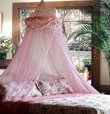 princess curtain over bed decorate the house with beautiful curtains