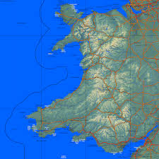 Map Of Wales Country Maps United Kingdom