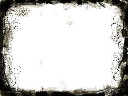 cool frame free black white swirls frame backgrounds for powerpoint border