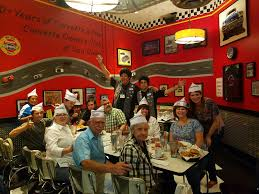corvettes diner great at corvette diner june 10 baby huey and felix are