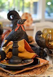 Halloween Entertaining - halloween entertaining with a whimsical table setting u0026 david