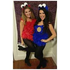 elmo and cookie monster halloween costume diy halloween costumes