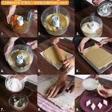 cuisine calisson calissons d aix tutoriel technique en photos pas à pas les