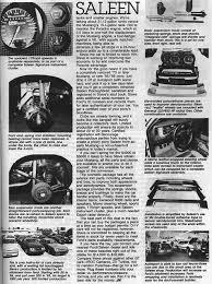 1985 saleen mustang saleen mustang article