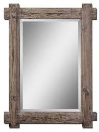 Reclaimed Wood Room Divider Adorable 25 Bathroom Mirror Rustic Inspiration Of Wood Mirrors For