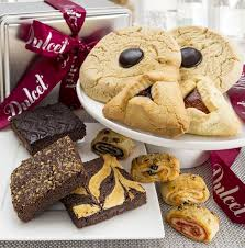 cookie basket dulcet gift basket brownie and cookie combo gift basket