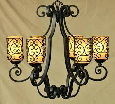 Colonial Chandelier Spanish Revival Wrought Iron Chandelier Spanish Colonial