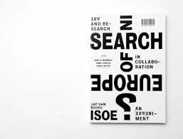 Search Design by In Search Of Europe Book Eps51 Graphic Design Studio
