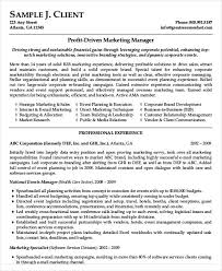 Brand Manager Resume Sample by Basic Business Resume Templates 24 Free Word Pdf Documents