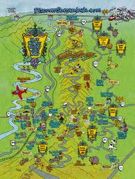 Map Of Virginia Wineries by Blue Ridge Whisky Wine Loop Map Discover Shenandoah