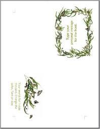 4 fold card