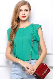 green womens blouse green side slit high low blouse top womens shirts blouses