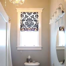 curtain ideas for bathroom windows best 25 bathroom window treatments ideas only on also