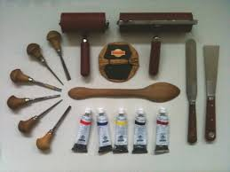 Japanese Wood Carving Tools Uk by Getting Started With Linocut Equipment Linocutboy